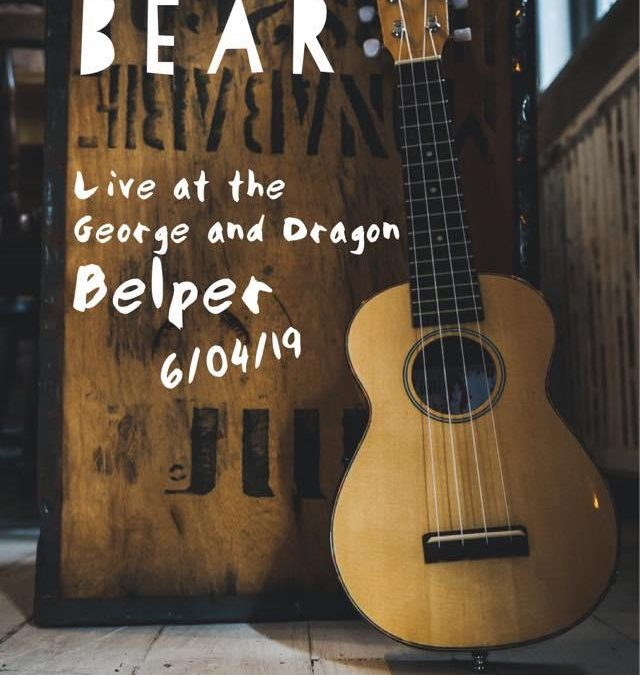 NATIVE BEAR AT the George and Dragon hotel 6th of April