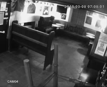 Ghost spotted last night in bar of George and Dragon Hotel