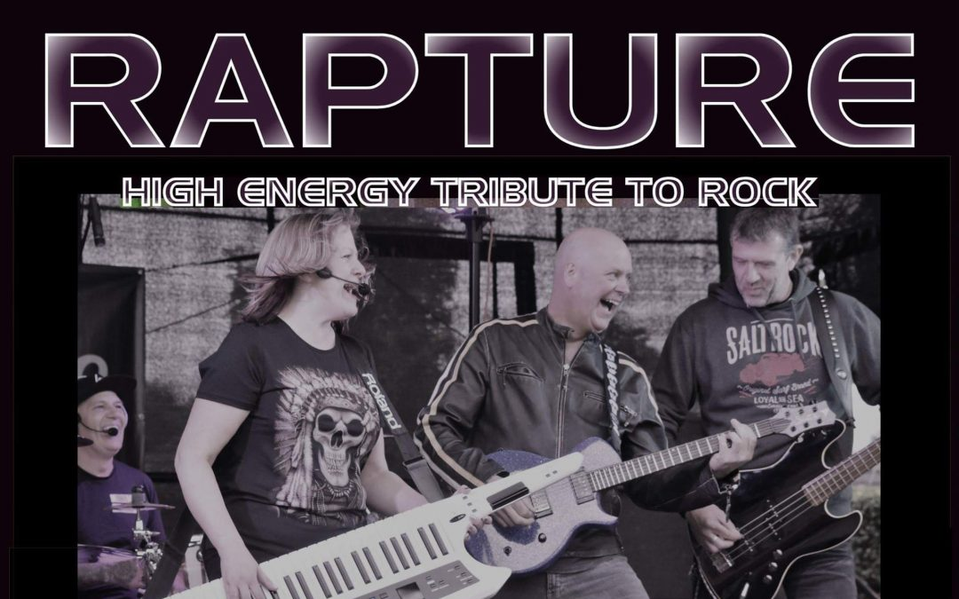RAPTURE rock the George and Dragon Belper April 27th from 9pm