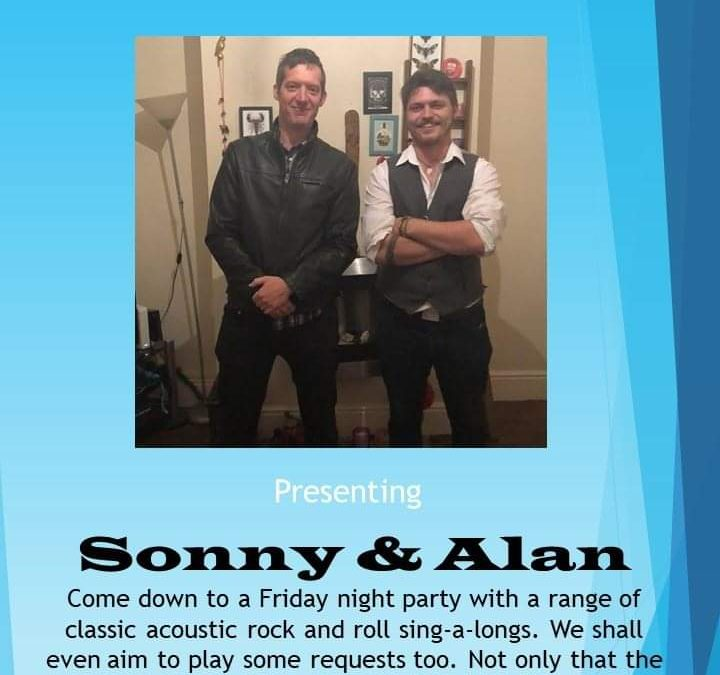 Sonny and Alan play 13th of September