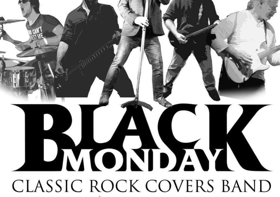 Black Monday's on Saturday 14th of March at the George and Dragon Hotel 9pm
